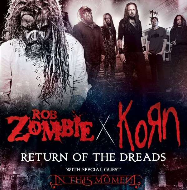 Tour - Zombie and Korn - Summer 2016