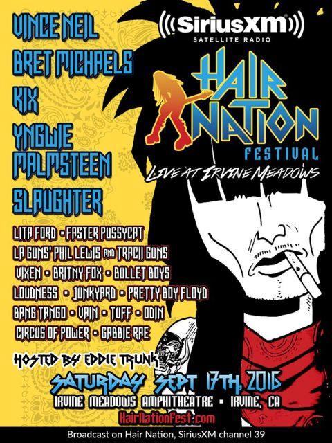 Festival - Hair Nation Festival - 2016