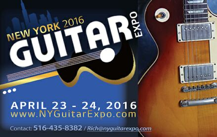 Photo - NY Guitar Expo - 2016