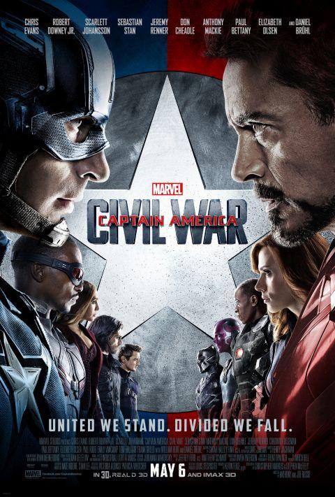 Poster - Captain America Civil War - 2016