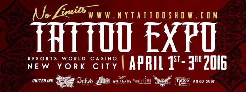 Poster - No Limits Tattoo Expo - 2016