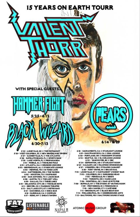 Tour - Valient Thorr - 15 Years On Earth 2016