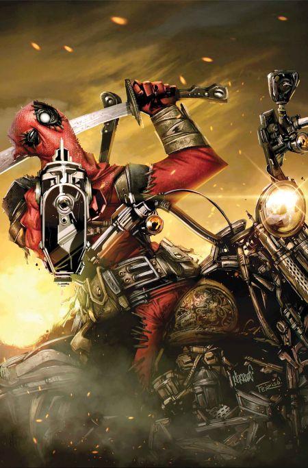 """""""Deadpool Masacre"""" #1"""