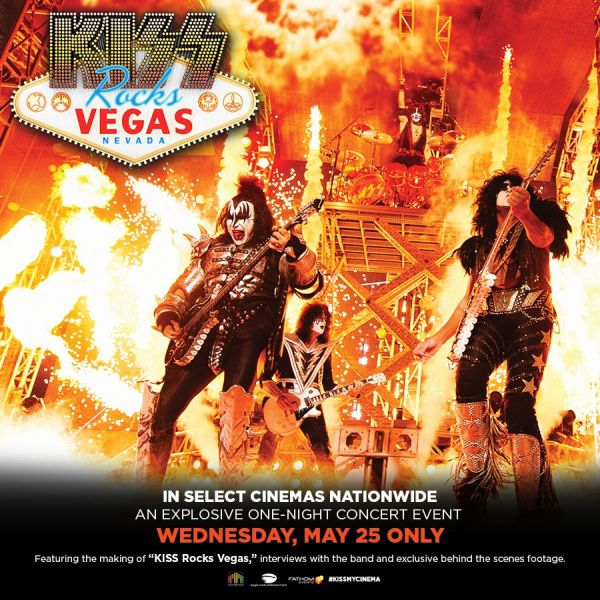 Poster - KISS Rocks Vegas at AMC Empire 25