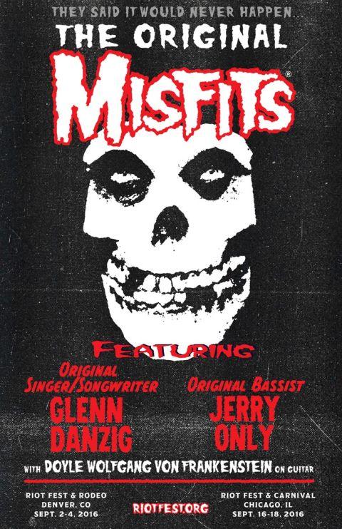 Poster - Misfits Reunion - 2016