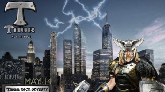 Poster - Thor at Highline Ballroom - 2016
