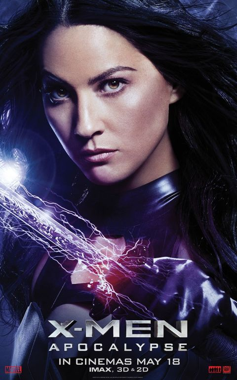 Poster - X-Men-Apocalypse - 2016 - Psylocke