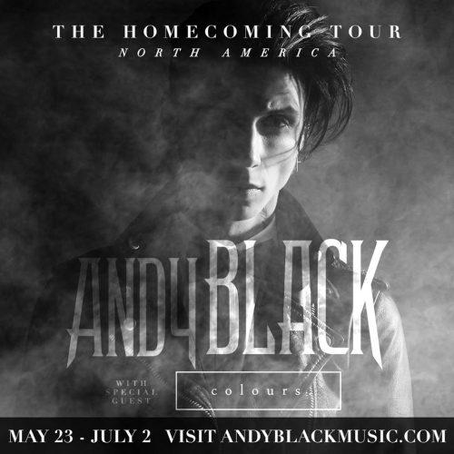 Tour - Andy Black - Homecoming Tour 2016