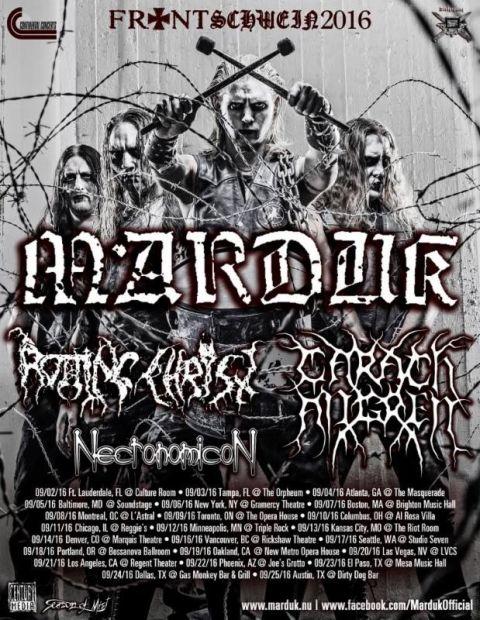 Tour - Marduk - 2016