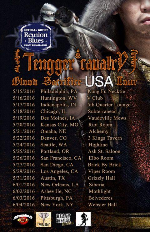 Tour - Tengger Cavalry - US 2016