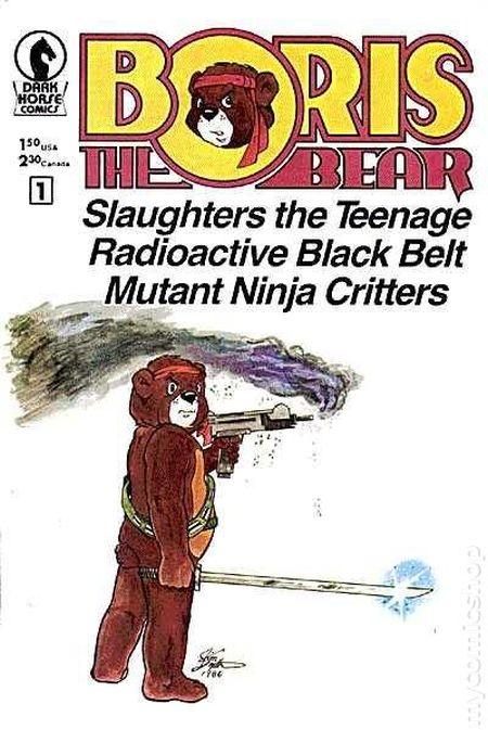 """""""Boris The Bear"""" #1 (1986)"""