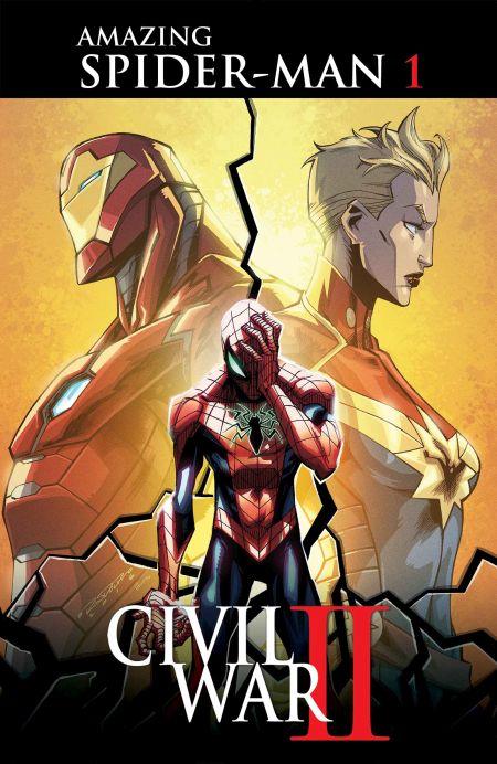 """""""Civil War II - Amazing Spider-Man"""" #1"""