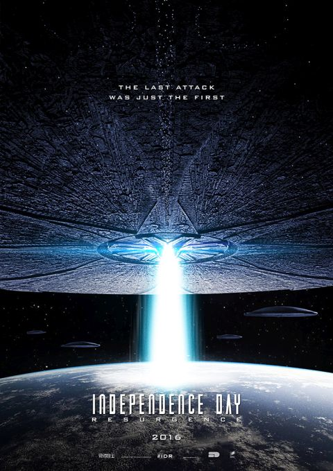 Poster - Independence Day Resurgence - 2016