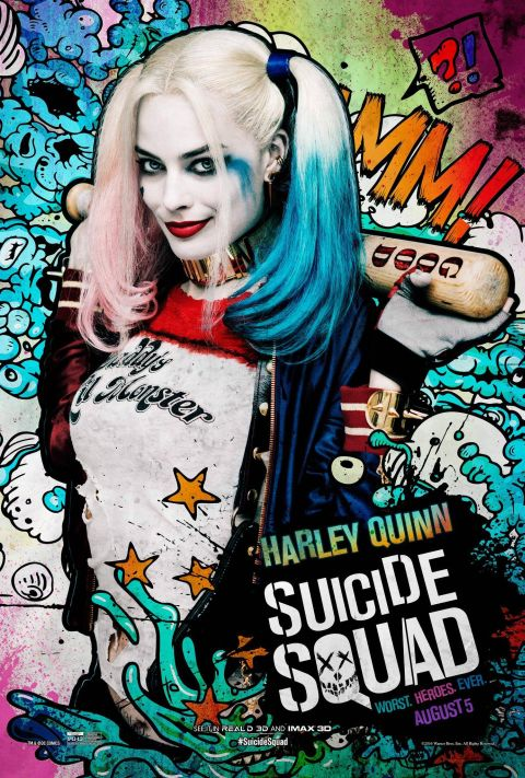 Poster - Suicide Squad Character 2 - Harley Quinn