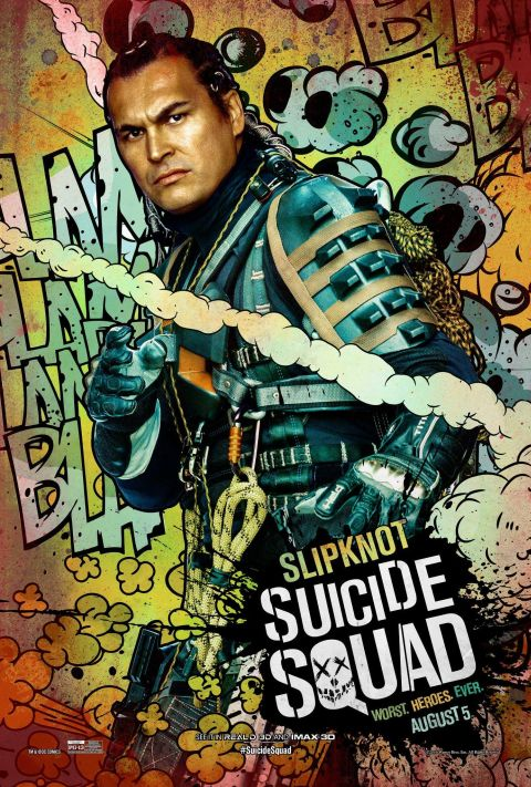 Poster - Suicide Squad Character 2 - Slipknot