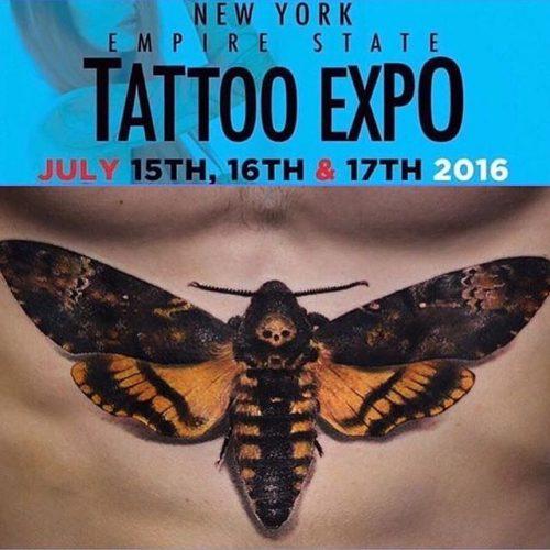 Logo - NY Empire State Tattoo Expo - 2016