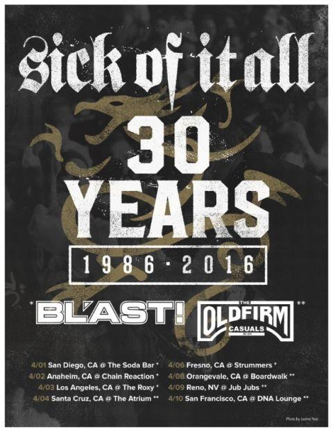 Tour - SOIA - 30 Years 2016 - 1