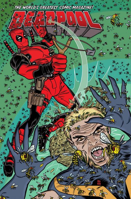 """True Believers - Deadpool: Deadpool Vs Sabretooth""  1"