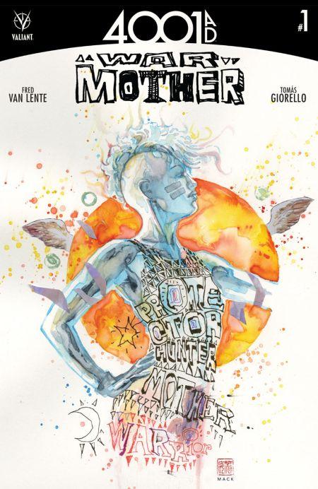 """""""4001 A.D: War Mother"""" #1"""