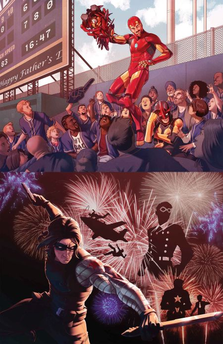 """""""A Year Of Marvels The Unstoppable"""" #1"""