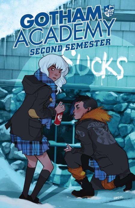 """Gotham Academy: Second Semester"" #1"