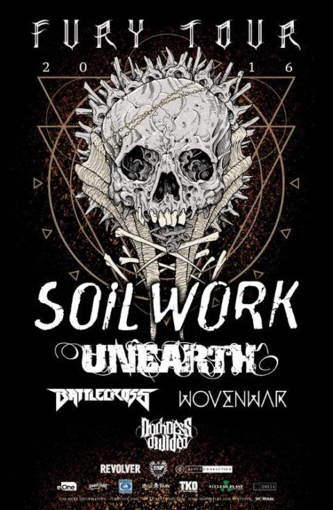 Tour - Soilwork - Fury Tour 2nd Leg - 2016