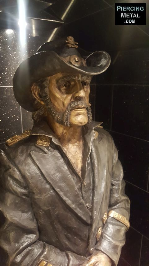 lemmy statue unveiling