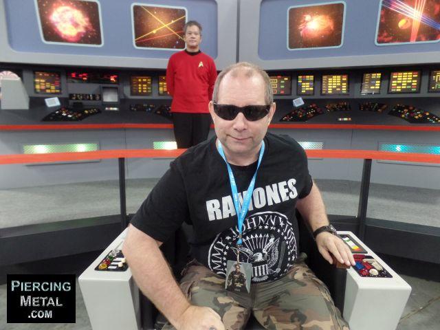 star trek, stark trek convention, uss enterprise, enterprise bridge