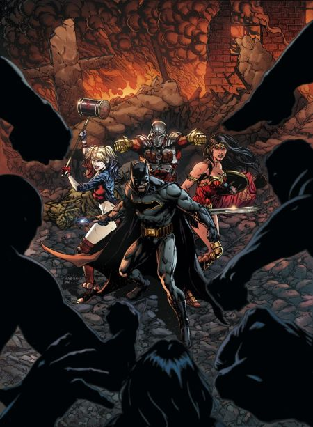 """""""Justice League Vs. Suicide Squad"""" #1"""