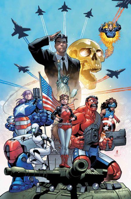 """""""U.S. Avengers"""" #1"""