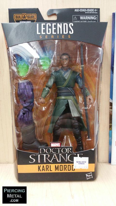 marvel comics action figures, marvel legends series, doctor strange action figures, build-a-figure, hasbro toys