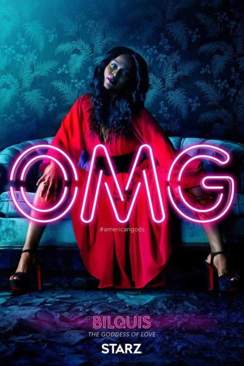 american gods character posters, american gods