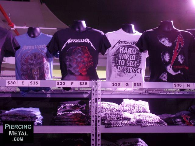 metallica pop-up shop nyc, metallica