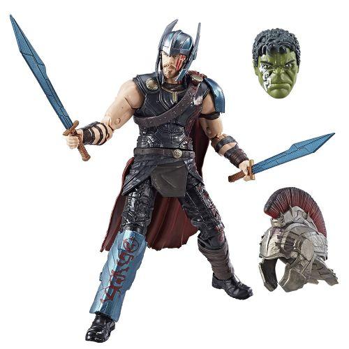 hasbro, marvel legends series, action figures, thor ragnarok, build-a-figure