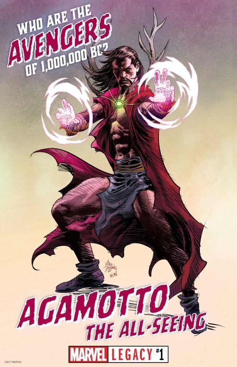 marvel comics, marvel comics characters, 1,000,000 bc avengers, marvel legacy