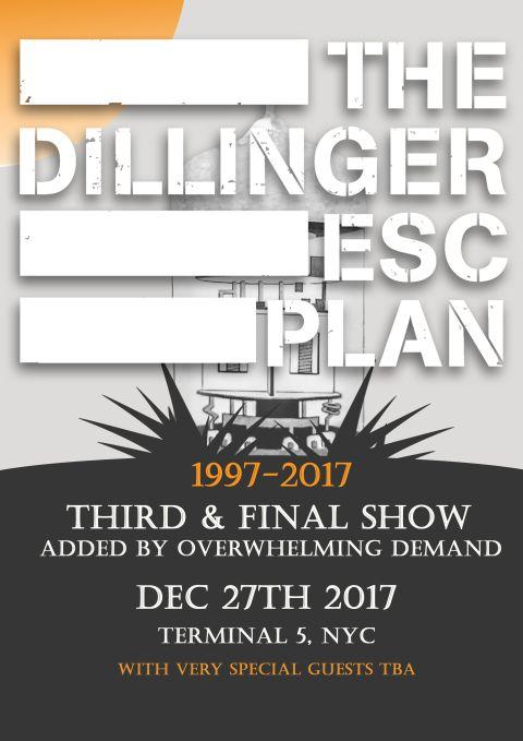 dillinger escape plan tour posters, tour posters
