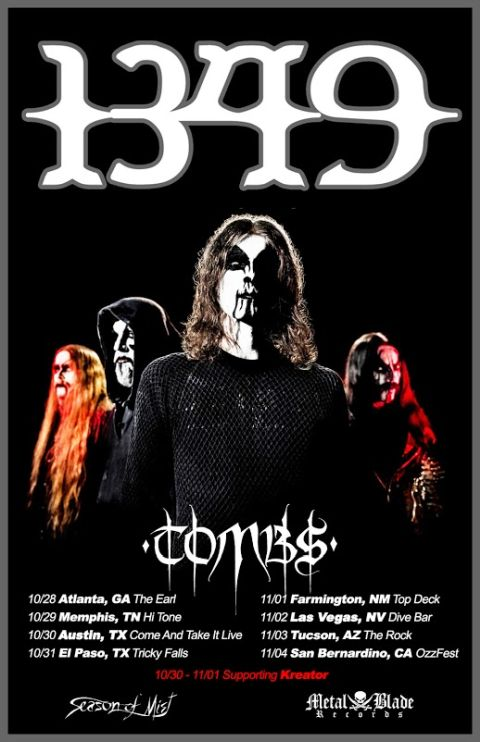 1349 tour posters, tour posters