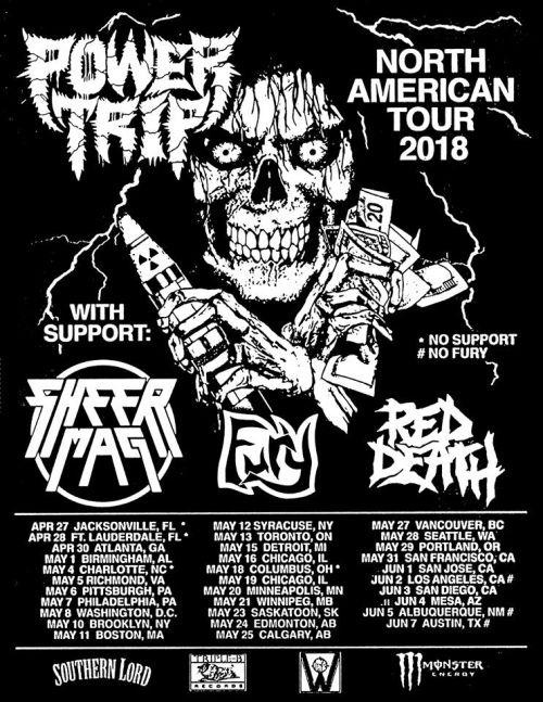 power trip, tour posters