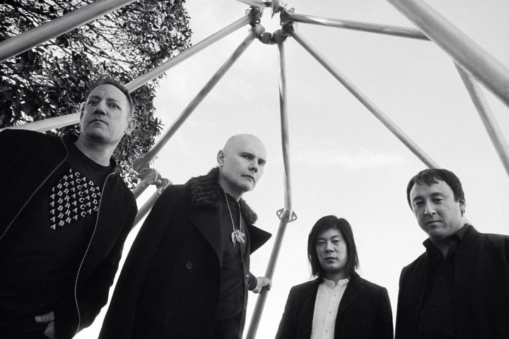 smashing pumpkins, smashing pumpkins band photo, photo by olivia bee