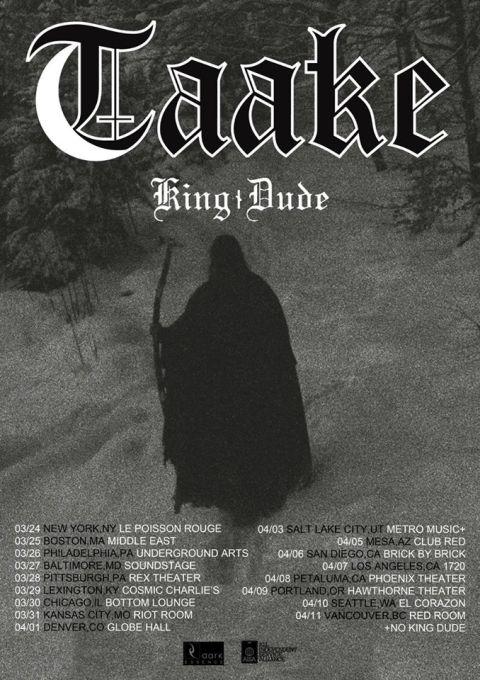 taake, taake tour posters, tour posters