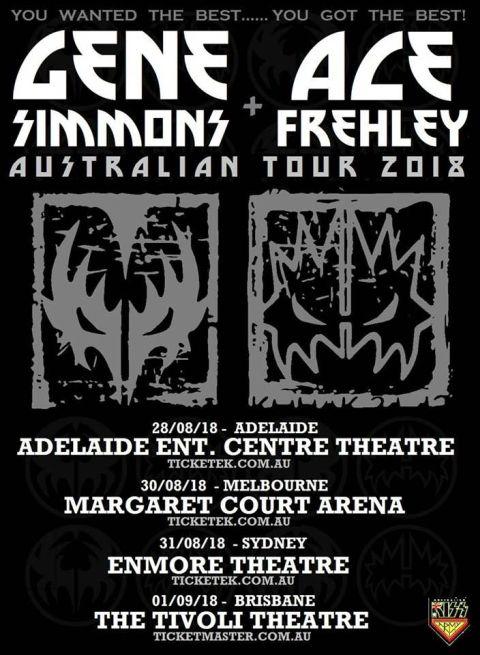 Upcoming Metal Tours Australia