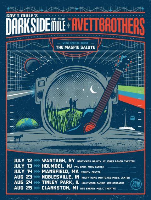 gov't mule, tour posters, gov't mule tour posters